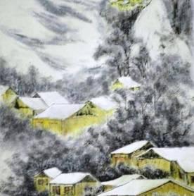 Snow Village by Neinei Hui Chun