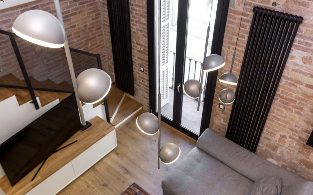 Renovations in Poblenou and industrial decoration