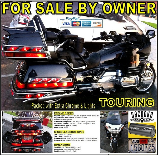 Superb For Sale 1997 Honda Gl1500 Goldwing Se Special Edition Squirreltailoven Fun Painted Chair Ideas Images Squirreltailovenorg