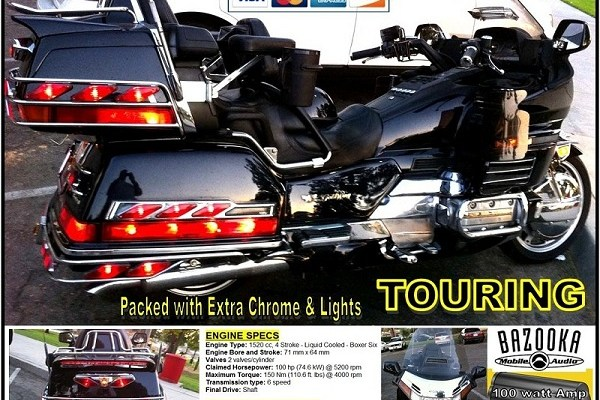 1997 Honda GL1500 Goldwing SE ( Special Edition )