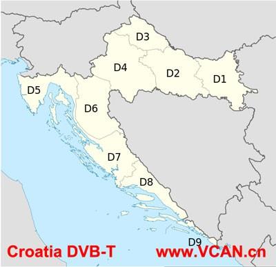 Croatia DVB-T