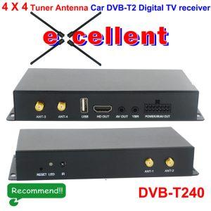 Germany DVB-T2 H265 4 antenna