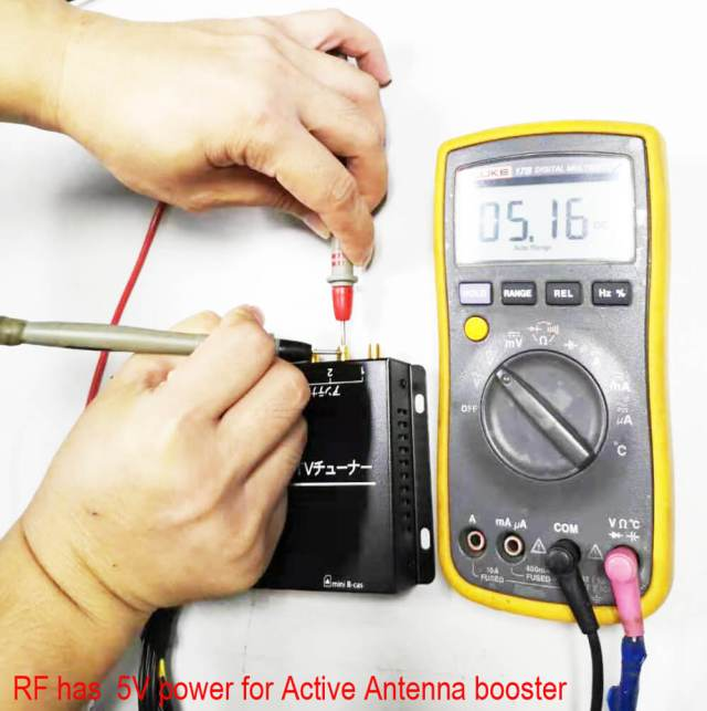 RF Tuner 5V for active antenna