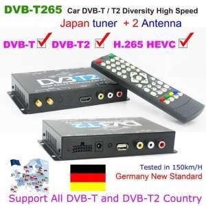 欧洲的DVB-T2