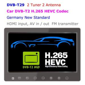 9 inch portable DVB-T2 LCD TV monitor