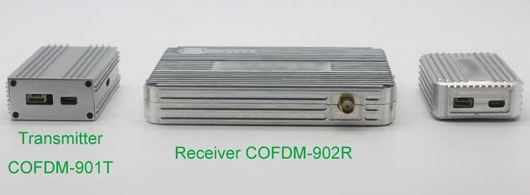 cofdm transmitter wireless video