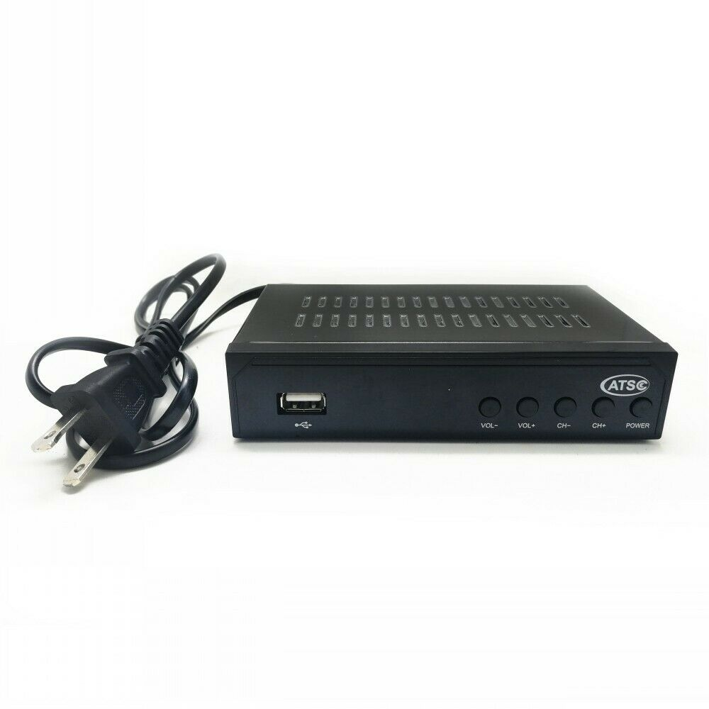 Mexico ATSC TV Receiver Digital TV MPEG4 HDMI USB PVR VCAN1078 for USA Canada 9 -