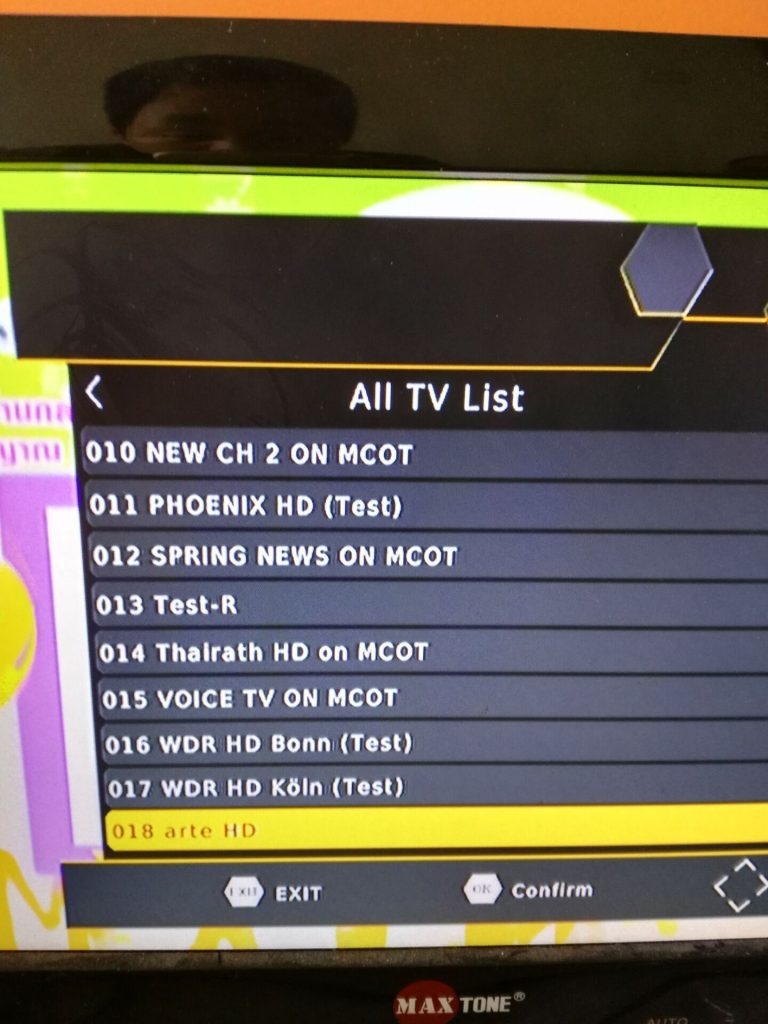 channel list 2
