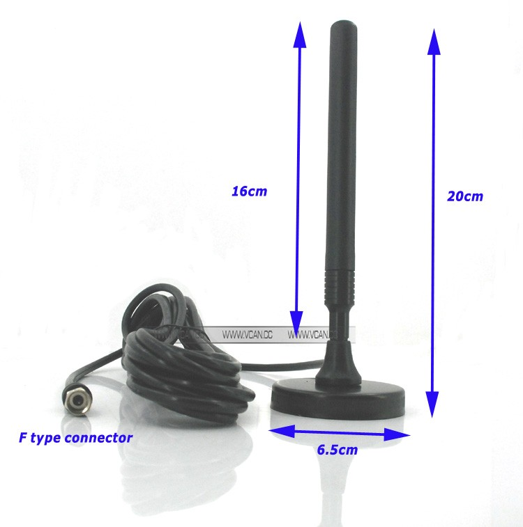 ISDB-T Digital TV Antenna with magnet base