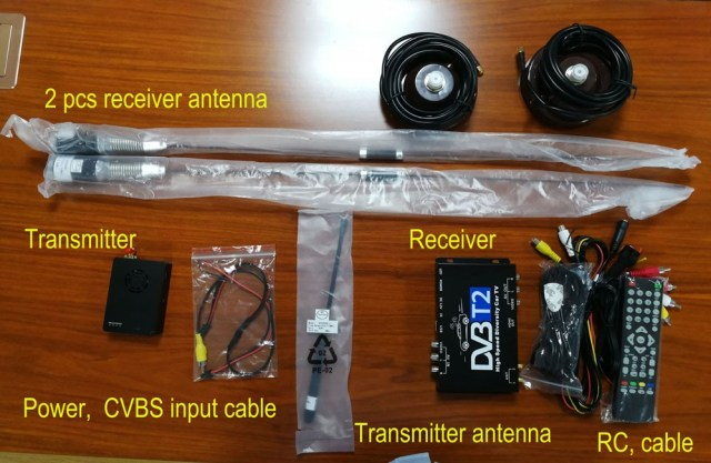 COFDM发射器接收器