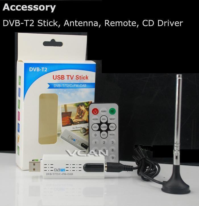 USB DVB-T2 PC DTV receiver DVB-T2 DVB-T DVB-C SDR FM DAB TV stick