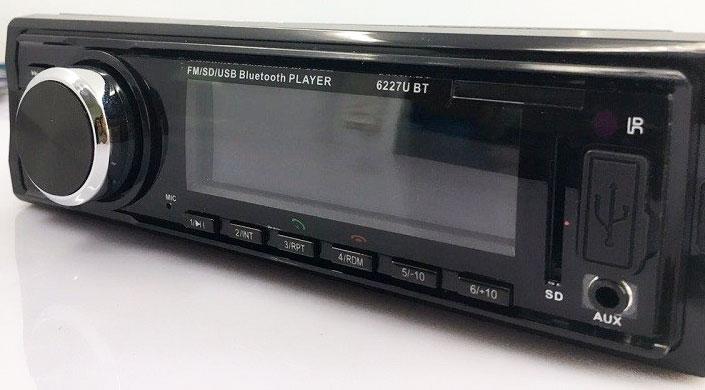 Fixed Panel Car MP3 USB SD FM Bluetooth RDS MP3-6227 14 -