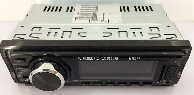 Fixed Panel Car MP3 USB SD FM Bluetooth RDS MP3-6227 19 -