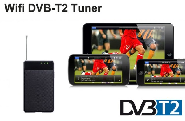 WIFI DVB-T2 Tuner Digital TV DVB-T Receiver for Android phone and pad WIFI-TV300 11 -