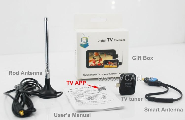 ATSC USB TV stick mobile phone use tuner USA Canada Mexico micro usb android phone pad ATSC-77 10 -