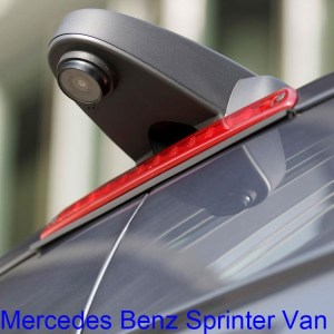 Mercedes Benz sprinter van camera
