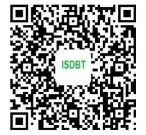 app ISDBT téléphone mobile