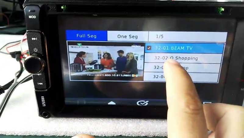 ISDB-T TV Module modulator full segment HD MPEG4 for in-car dvd gps head unit portable devices 5 -