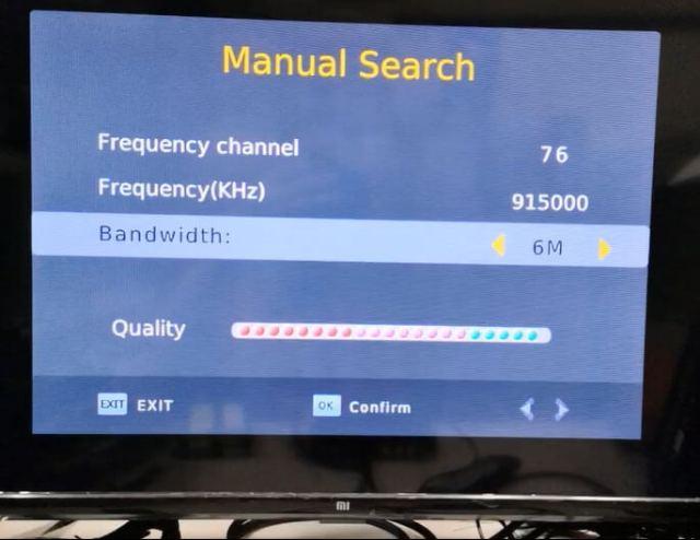 COFDM 915MHz ความถี่ 6M แบนด์วิดธ์