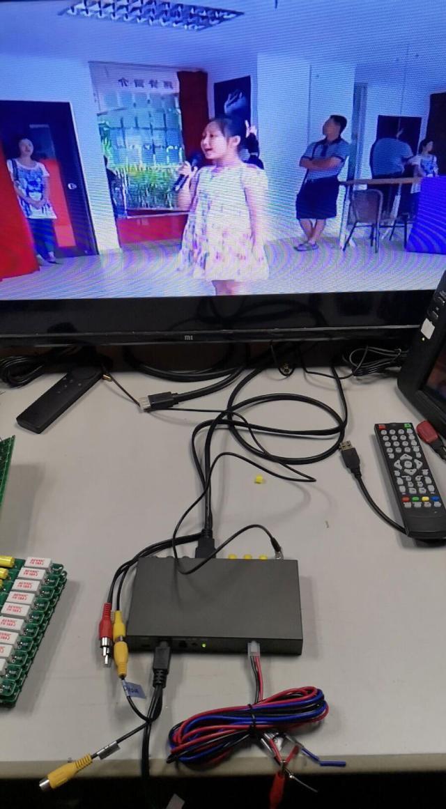 DVB-T COFDM et 6M sans fil 915 MHz Récepteur vidéo