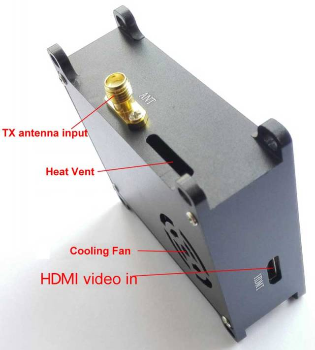 COFDM Wireless Video Transmitter