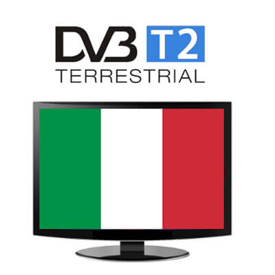 Italia DVB-T2