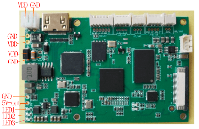 Encode Board for COFDM Wireless Video Transmitter 4 -