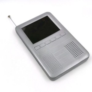 3.2 inch portable isdb-t one seg