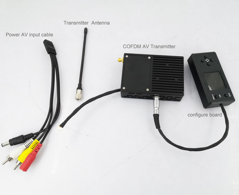 720p video transmitter transmission