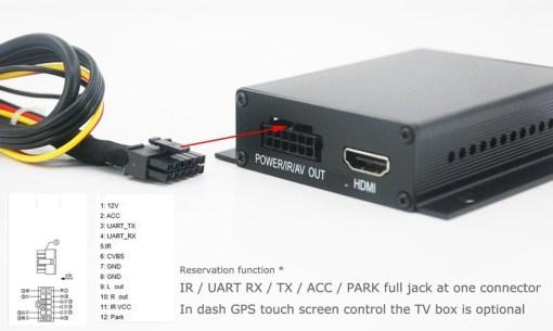 One tuner One antenna car DVB-T tv receiver MPEG4 DVB-T7000 3