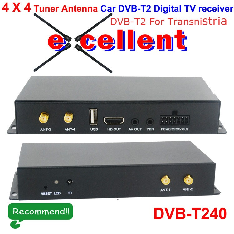 DVB-T2 services in Transnistria
