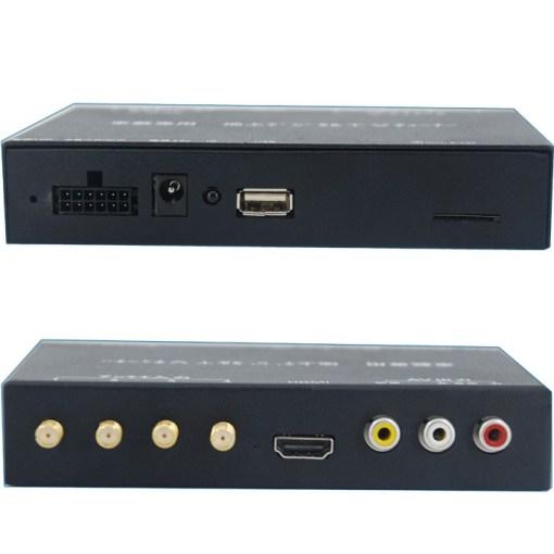 ISDB-T7800 Car four tuner ISDB-T Full One Segment four antenna Mini B-cas card 1