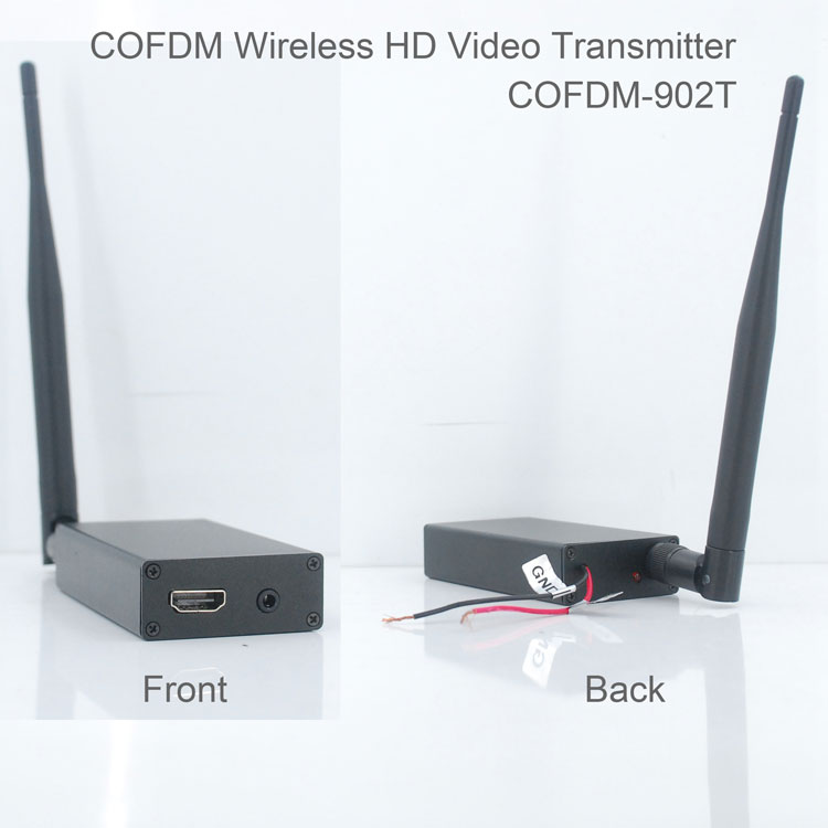 COFDM-T902T COFDM HD Wireless composite Video Transmitter 1080P CVBS SD 720P 1