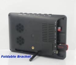 7 inch ISDB-T Digital ISDBT TV HD MPEG4 FULL SEG Analog TV USB TF MP5 player AV input Rechargeable Battery 13