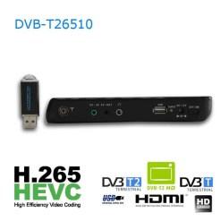 10 DVB-T2 H265 HEVC AC3 Codec Portable TV PVR Multimedia Player Analog kitchen bedroom car DVB-T26510 11