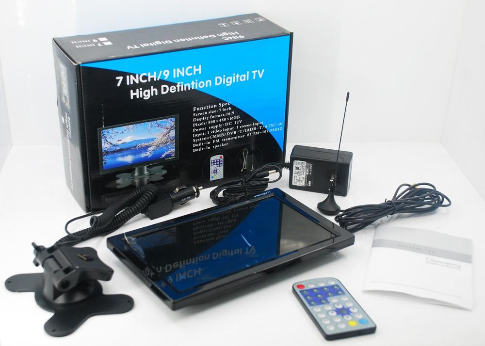 9 inch portable DVB-T2 TV monitor