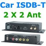 ISDB-T9820車ISDB-T 2つのチューナー2つのアンテナHD MPEG4テレビ受信機、ブラジルペルーチリコスタリカ 5
