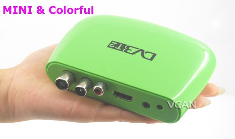 DVB-T2M8 Mini HD DVB-T2 Home H.264 Set Top Box with USB support PVR /Multi-language 15