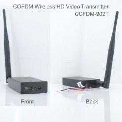 COFDM-902T COFDM HD Wireless composite Video Transmitter 1080P CVBS SD 720P 9
