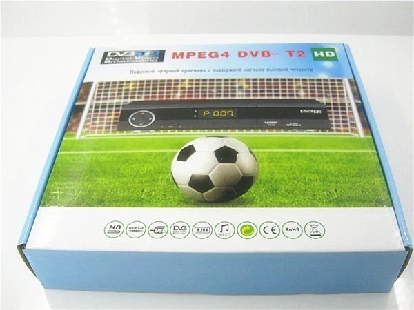HD dvb-t2 Home TV receive box USB support with PVR function