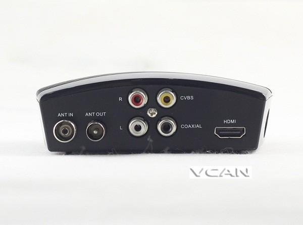 VCAN1076 HD mini Home DVB-T2 Digital TV Receiver H.264 black box MPEG4 USB PVR 15