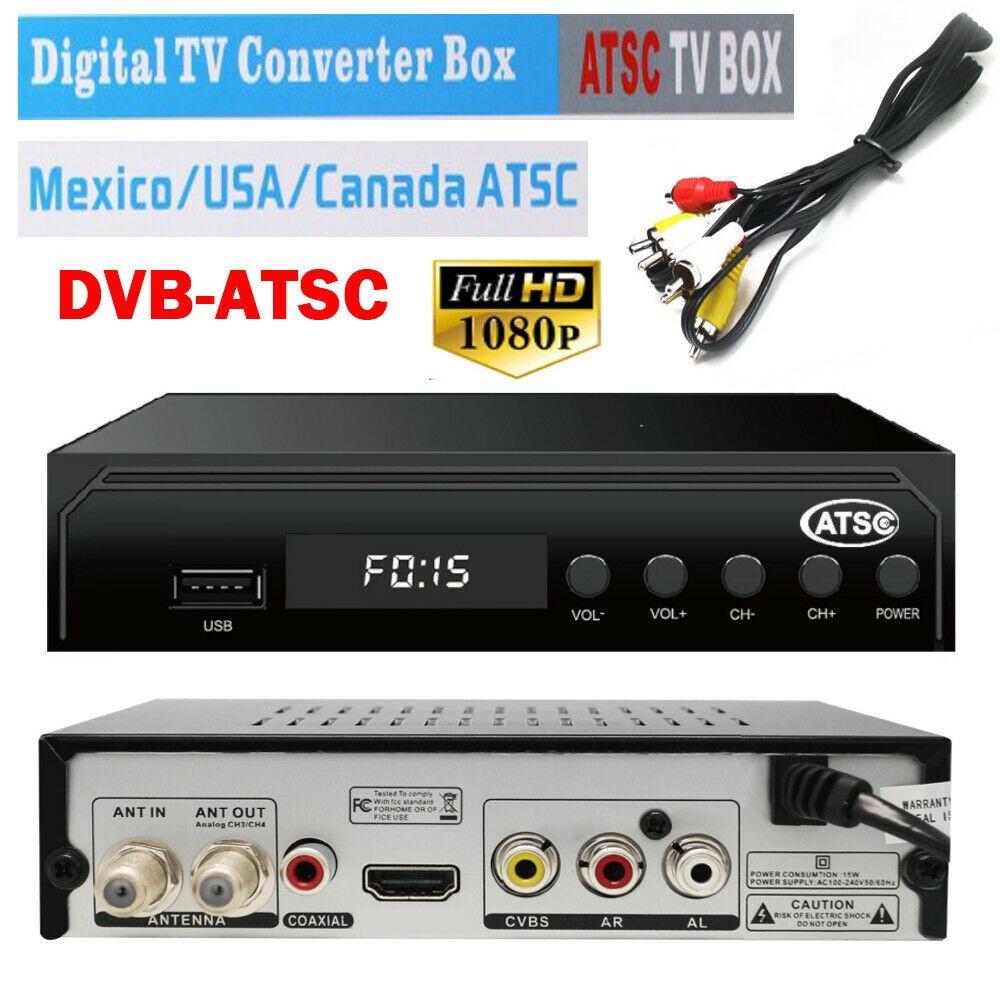 Mexico ATSC TV Receiver Digital TV MPEG4 HDMI USB PVR VCAN1078 for USA Canada 21