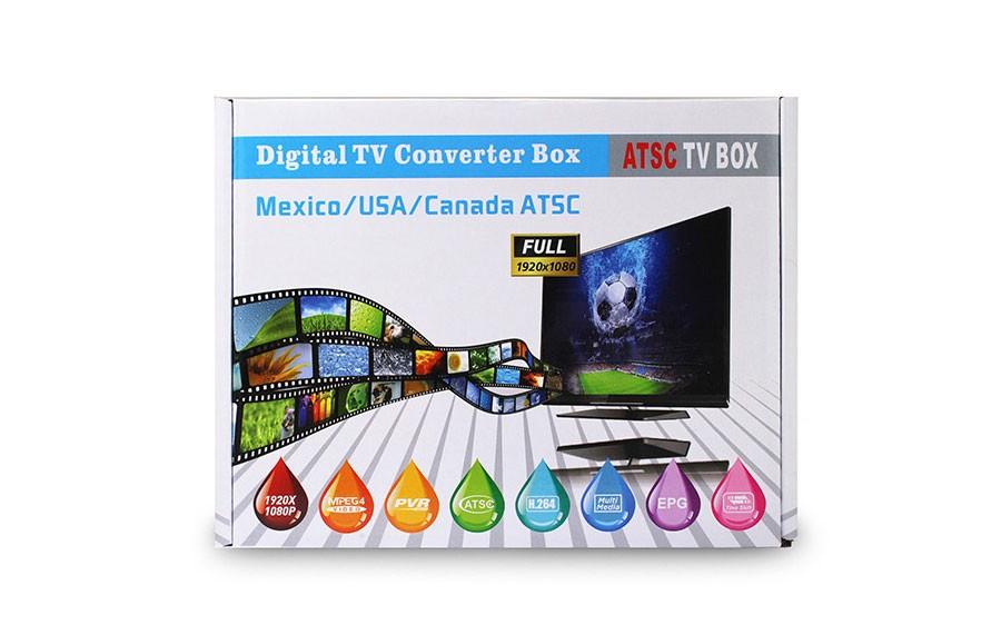 Mexico ATSC TV Receiver Digital TV MPEG4 HDMI USB PVR VCAN1078 for USA Canada 16