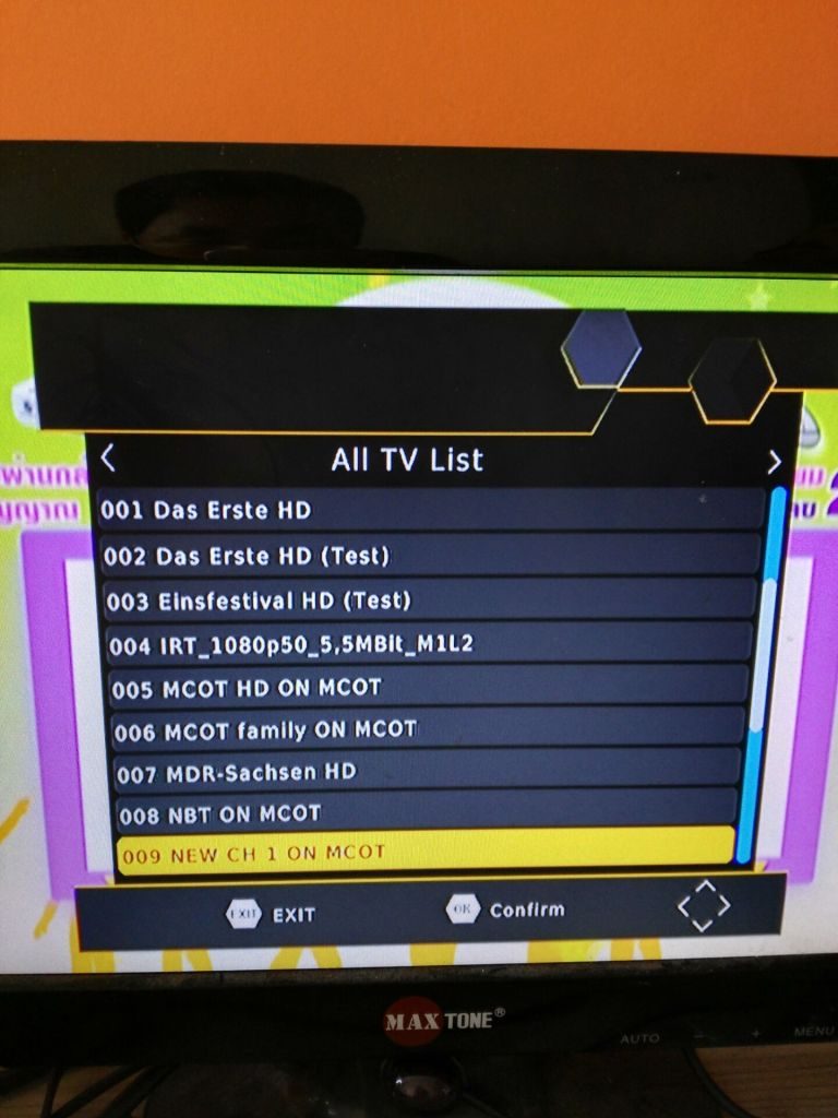 Germany Car DVB-T2 H.265