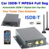 ISDB-T5800 car one seg ISDB-T digital tv receiver for Japan Brazil Peru Chile 1