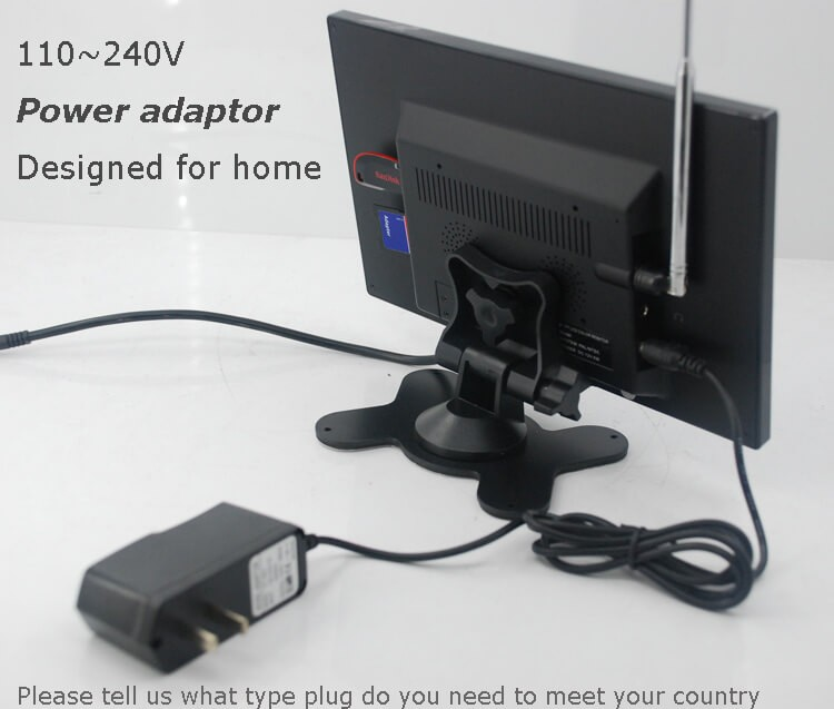 9 inch monitor with USB SD mp5 player Vcan0951 35
