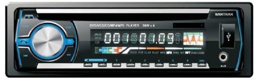 VCAN0734 USB compatible player Car radio 1