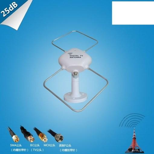 Digital TV DVB-T2 UHFVHF Flat antenna 1