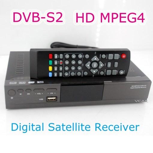HD MPEG4 DVB-S2 Digital Satellite TV Receiver 1