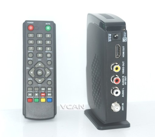 Home DVB-T2 Digital TV receive box USB support with PVR function 1